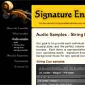 Signature Ensemble